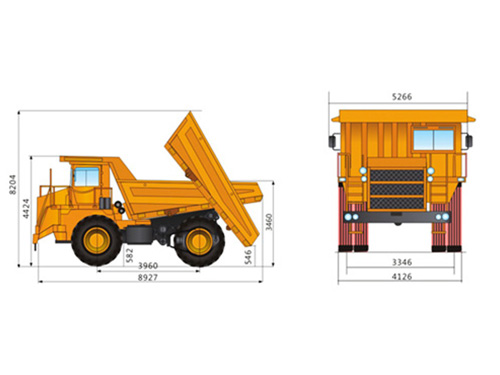 SGR50C矿用自卸车