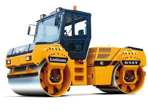 CLG613T-双钢轮压路机