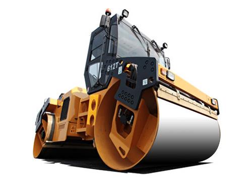 CLG612T-双钢轮压路机
